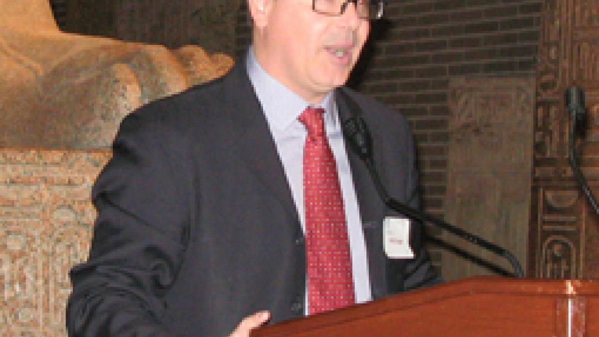 Department Chair Dirk Krueger welcomed attendees and introduced the program.