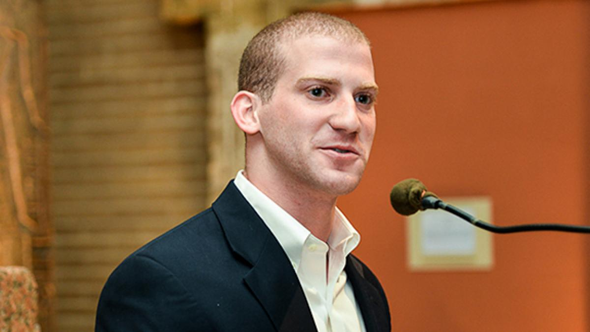 Seth Pollack was the winner of the Lawrence R. Klein Prize for Outstanding Research by an Undergraduate.