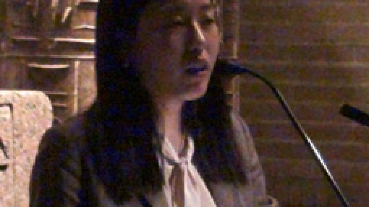 The David Cass/Beth Hayes Prize for Research Accomplishment was won by Yena Park.