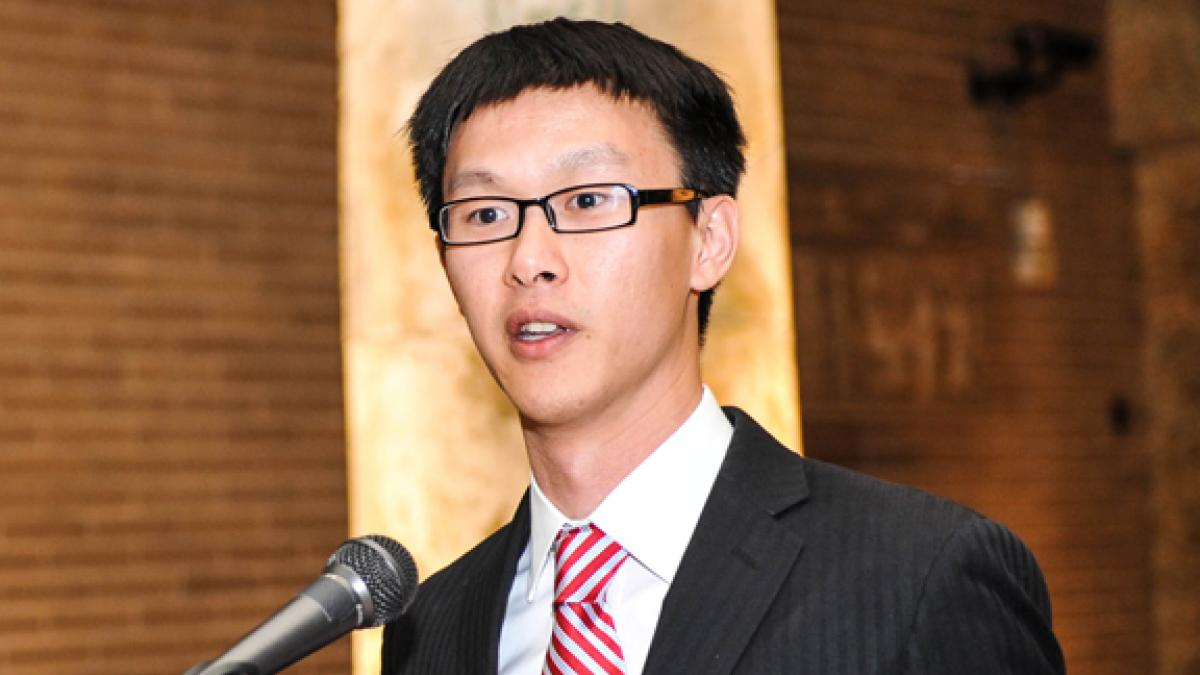 The winner of this year's Robert Summers Dissertation Fellowship in Economics was Tzuo-Hann Law.