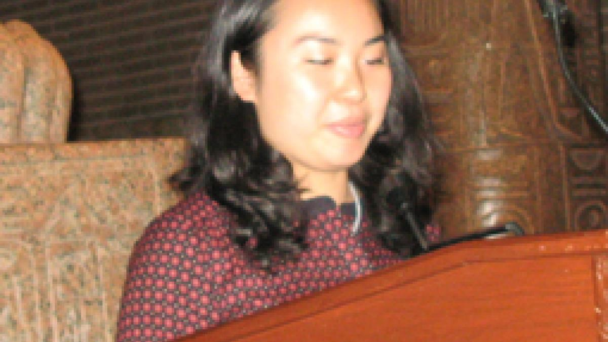 Christine Y.S. Huang  received the Kanta Marwah Prize for Undergraduate Research.
