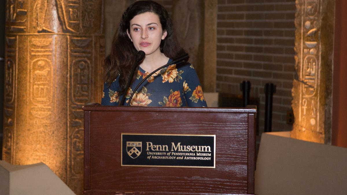 Lawrence R. Klein Prize for Outstanding Research by an Undergraduate presented to Catherine O'Donnell