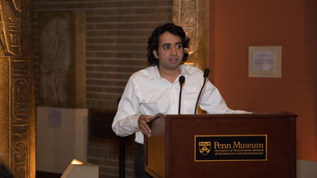 Joel Popkin Graduate Student Teaching Prize in Economics presented to Ashwin Kambhampati