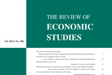 The Review of Economic Studies  Volume 86 Issue 1, January 2019,